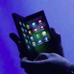 foldable phone from Samsung